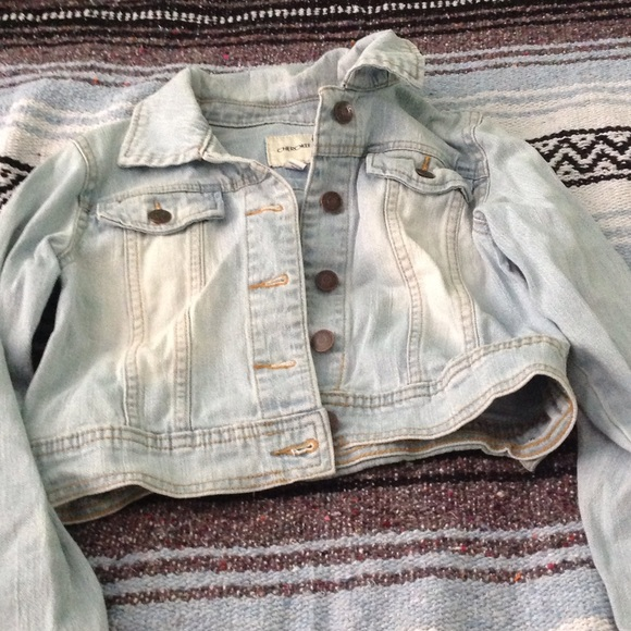 181080959 Cherokee Jackets & Coats | Girls Light Wash Denim Jacket | Poshmark