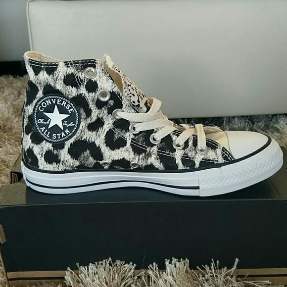 393f64a9bd0f Converse leopard print Chuck Taylor s