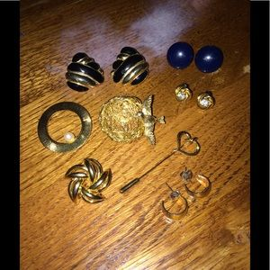 VINTAGE Lot of Fashion Jewelry