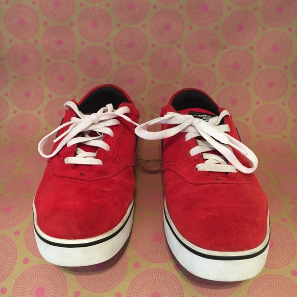 Nike SB Paul Rodriguez Red & Black Men's Shoes