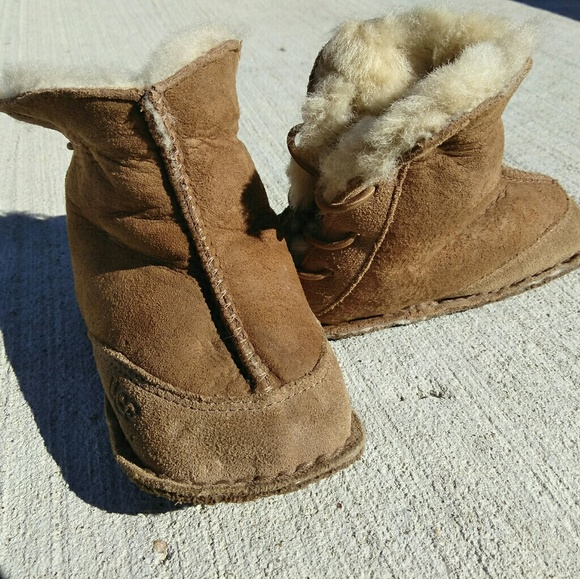 BABY INFANT UGG AUSTRALIA BOO BOOTS S/N 5206