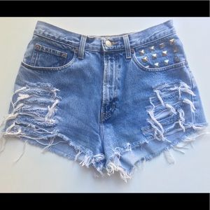 GAP Shorts - Vintage Custom High Waist Shorts