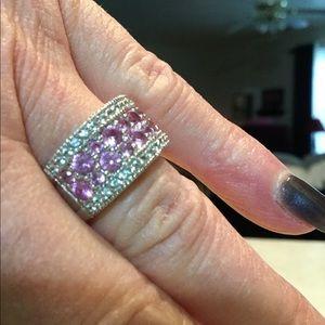 Jewelry - Lab created pink sapphire
