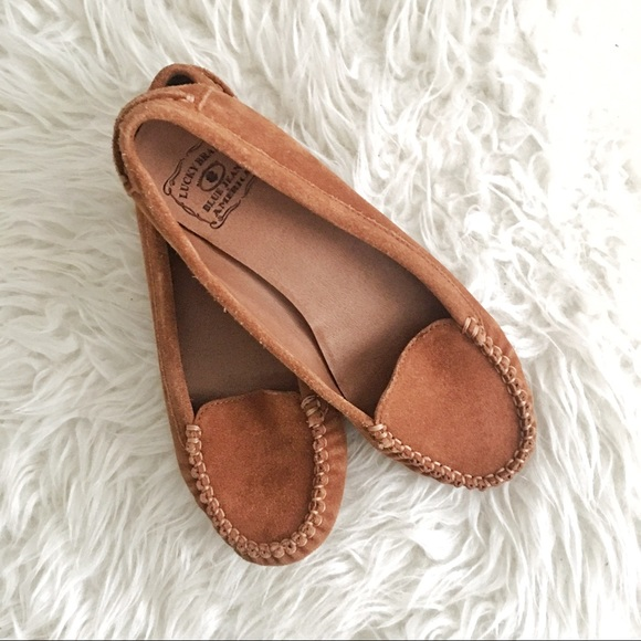 961a43a24f1 Lucky Brand Other - Lucky Brand leather moccasins