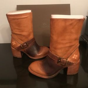 2aa4f2b8f5d Patricia Nash Shoes | Lombardy Buckle Mid Boots | Poshmark