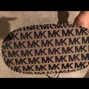 KORS Michael Kors Bags - Sold: Michael Kors MK Jet Set Tote Jacquard Beige