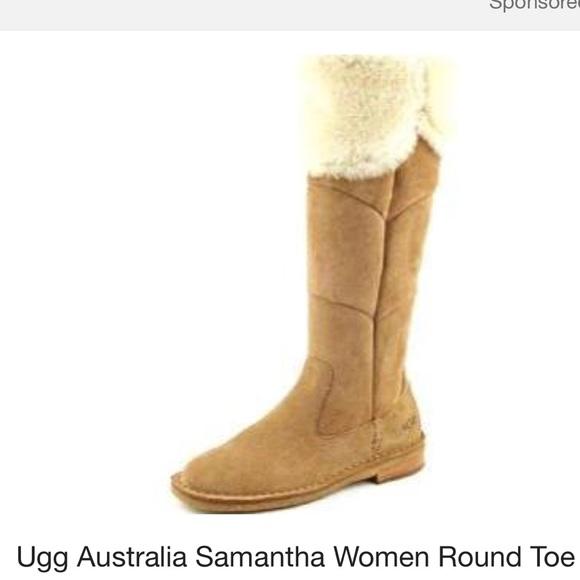 e5a88e0c4e8 Ugg Samantha Boot EUC size 7.5
