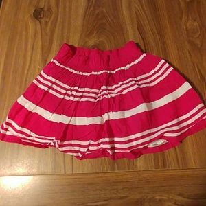Gilly Hicks pink striped skirt
