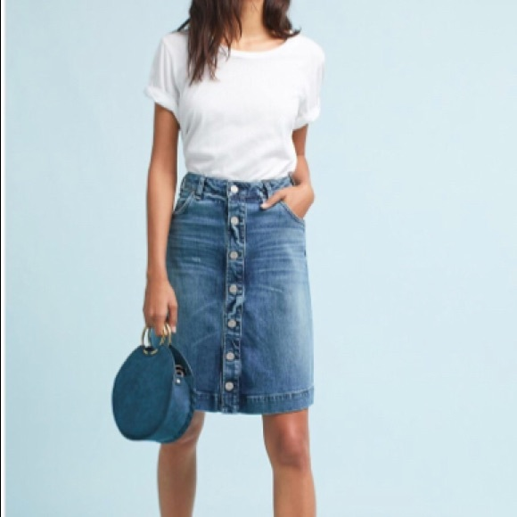 bcc1cdc2e MCGUIRE DENIM A-LINE SKIRT for ANTHROPOLOGIE. M_59f10bb82fd0b77c22007bf5