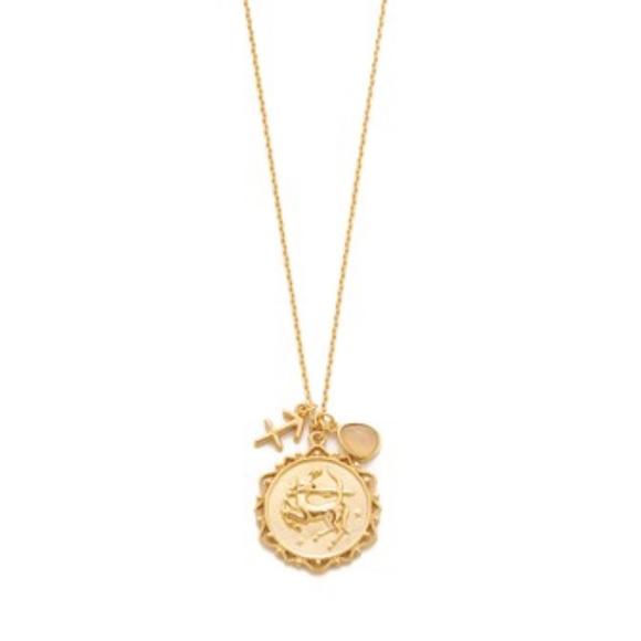 Tai Jewelry Capricorn Pendant Gold kY02FLoT4