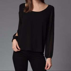REDUCED! • Long Sleeve Top w/ Back Detail