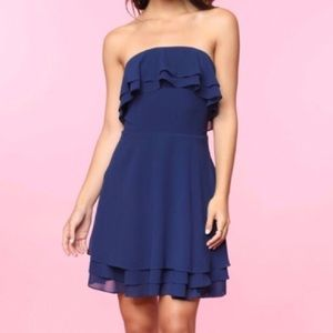 REDUCED! • Triple Ruffle Dress