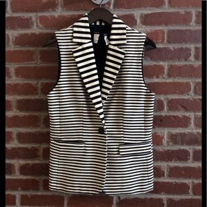 Alice + Olivia Striped Vest