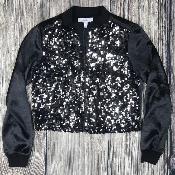 d784e1f4c03 NWT Libby Edelman Sequin Jacket Size Small