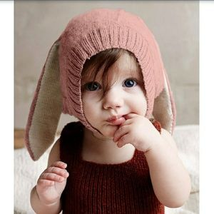 Other - Pink baby beanie