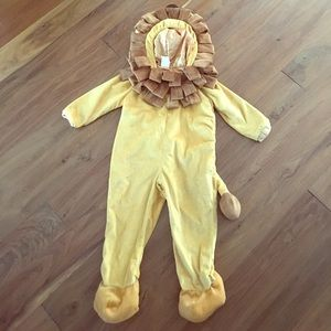 Other - NEW Lion Halloween Costume 3T / 4T Wizard of Oz