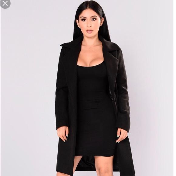 2e75e86d7937 Fashion Nova Jackets & Blazers - Fashion Nova Upper East Side Trench Coat 🌷