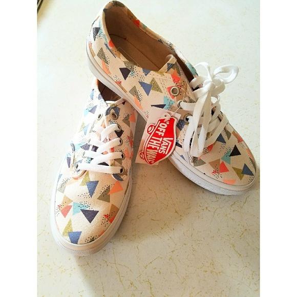 02cc756b8d9ee6 Vans Shoes - Vans Camden Stripe low-top off-white multicolor