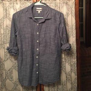 J.Crew button down chambray shirt