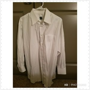 Ike Behar New York White Button Down