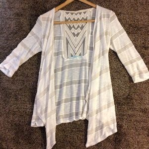 Maurice's light weight cardigan size Small