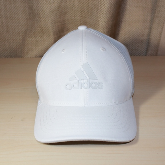 571bfb52 adidas Accessories | Golf Climacool Flexfit Cap Ae6096 White | Poshmark