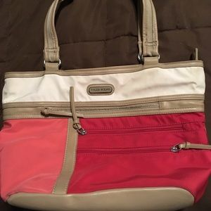 Tyler Rodan color block bag