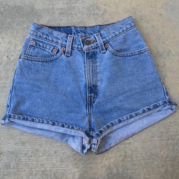 cd5df830d1 Levi's Shorts   Vintage Levis 512 Slim Fit   Poshmark