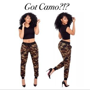 Pants - ✨New! Trendy Camouflage Joggers