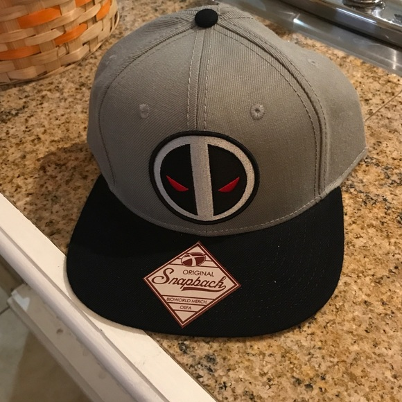 0cc9db47e3f Deadpool marvel snapback hat you urban gray skater
