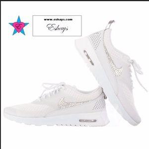 9e21b5c05c69 Shoes - Sparkle Nike Air Max Thea White Sneakers