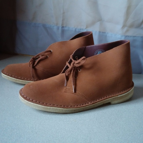 1083638ea4f Clarks Original Desert Boot Dark Tan Leather