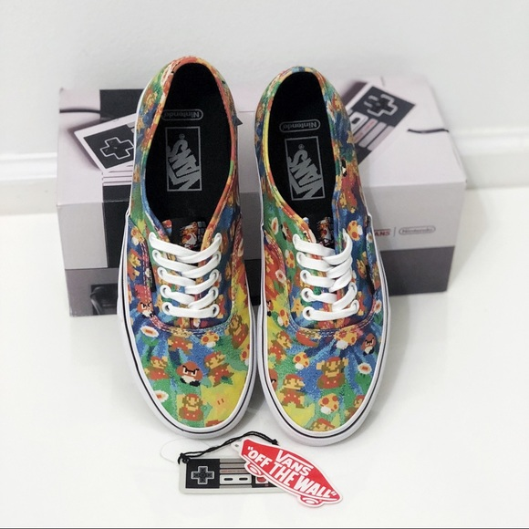 83632573b98601 LIMITED EDITION Nintendo x Vans Authentic Mario. M 59f12717c2845625b70102b5