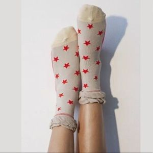 Peony and Moss Accessories - Peony And Moss Ankle Socks
