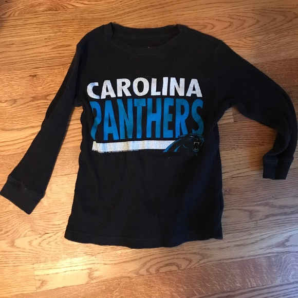 17298ec8c Kids Carolina Panthers Thermal Long Sleeve - XS