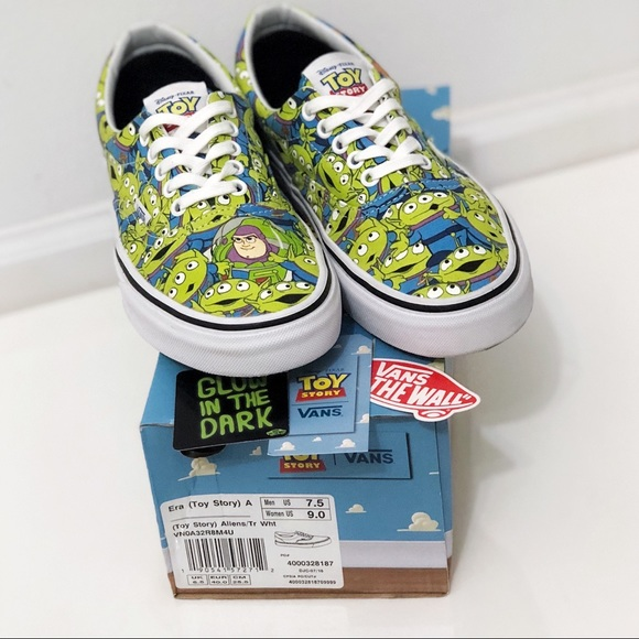 b53829db51 LIMITED EDITION Toy Story x Vans Era Aliens. M 59f129c88f0fc406db010369