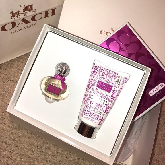 Coach Bags Poppy Flower Authentic Gift Set Brand New Poshmark