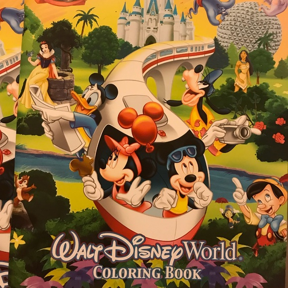 Disney Accessories | Walt Coloring Book Brand New | Poshmark