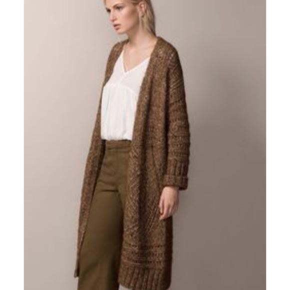 a10497f808d0 Massimo Dutti Sweaters | Long Wool Alpaca Blend Cardigan | Poshmark
