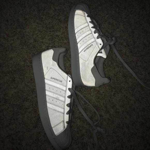 Le Originali Adidas Originali Le Aura Blu Fosforescente Poshmark 892792