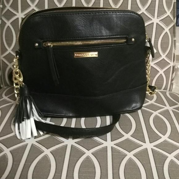 859ac4a35f7 Steve Madden Bags | Black Crossbody Purse | Poshmark