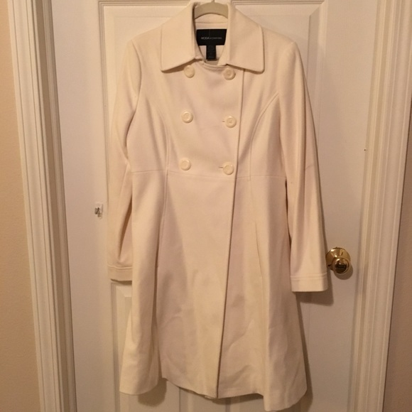 Victoria's Secret - Cream colored pea coat from Ashley's closet on ...