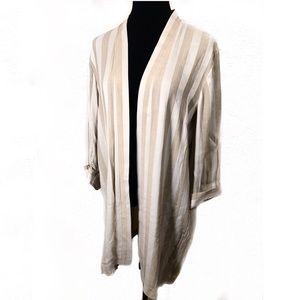 Striped vintage 80's jacket