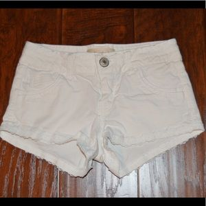 SOLD: Rewind white shorts