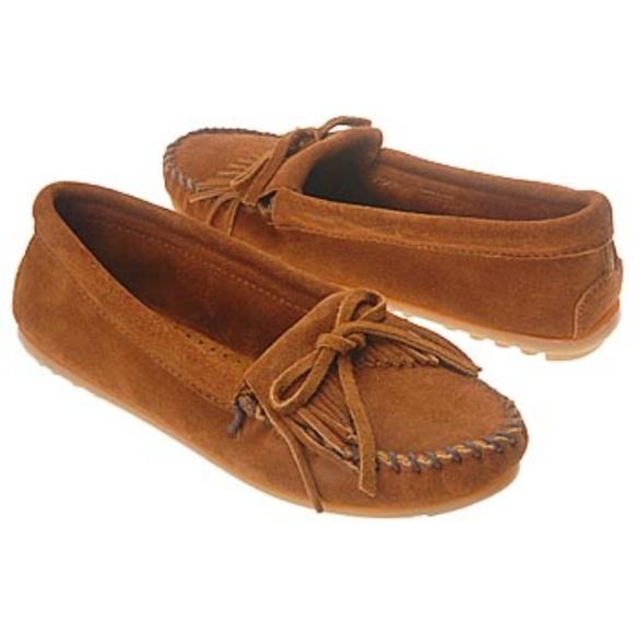 f8666877da6 MINNETONKA BROWN KILTY HARDSOLE MOCCOSINS style402.  M 59f1470cf09282523d01abf1. Other Shoes you may like. Minnetonka Women s  Suede Moccasins 9