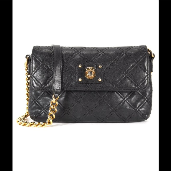 Marc Jacobs Bags Black Quilted Chain Bag Made In Italy Poshmark