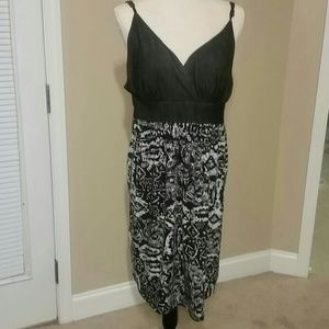 Dresses & Skirts - Sundress. Has cotton bottom, dark denim top.