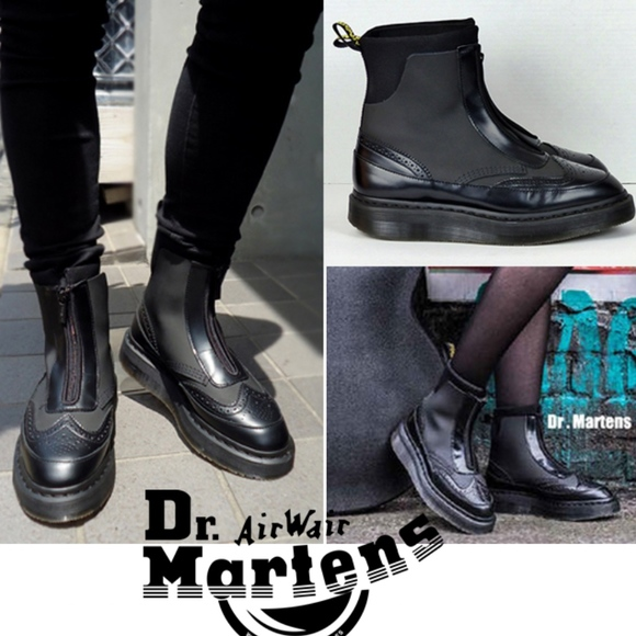 buying new release date most popular Dr. Martens Jemison Zip Boots Oxford Womens 11 US