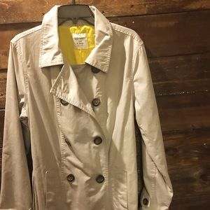 Old Navy double breasted trench coat