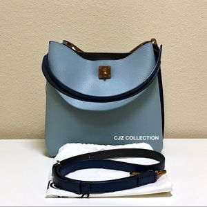NEW MCM Milla Hobo in Sky Blue
